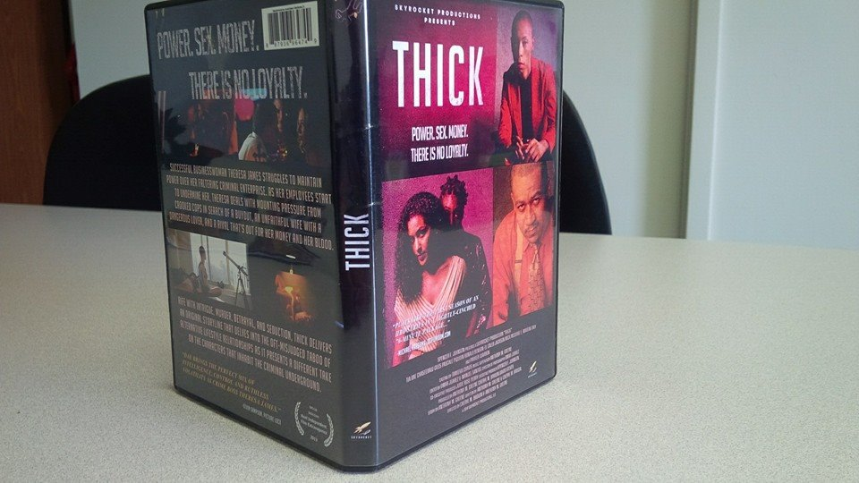 "Nominated for BEST CINEMATOGRAPHY for ""THICK"""